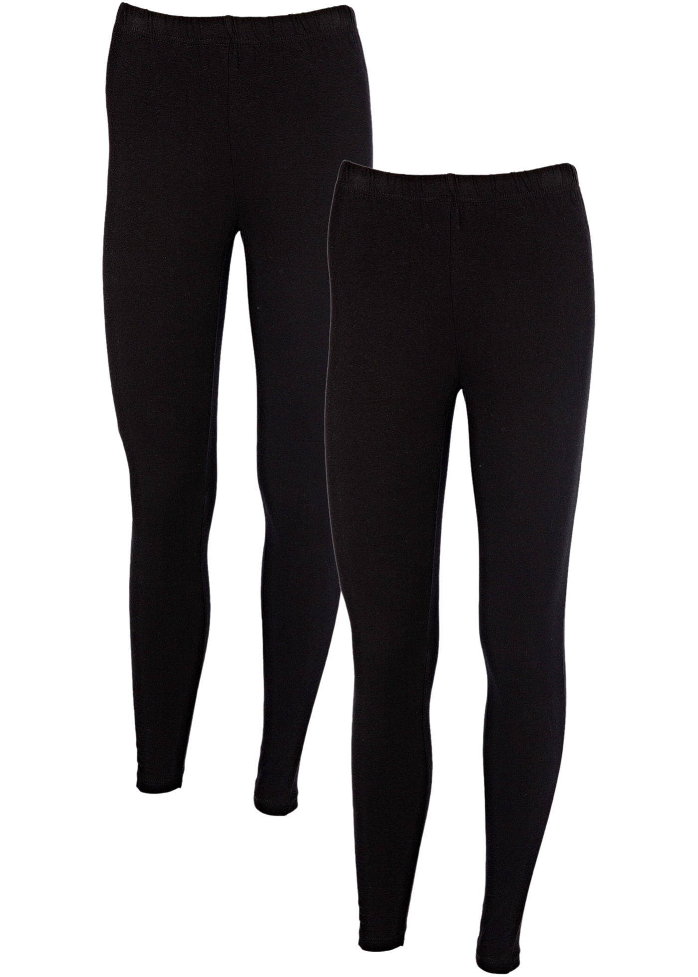 Leggings (2-pack), BODYFLIRT, svart