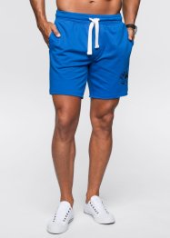 Sweatshorts, bpc bonprix collection, azurblå