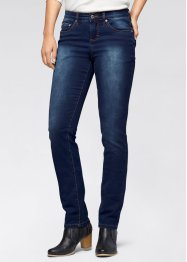 Power stretchjeans, STRAIGHT, John Baner JEANSWEAR, darkblue stone used