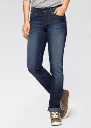 Stretchjeans STRAIGHT, John Baner JEANSWEAR, dark denim used