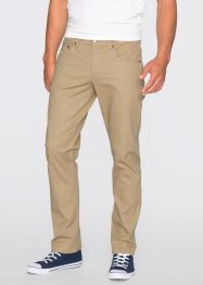 Stretchbyxa slim fit straight, RAINBOW, beige