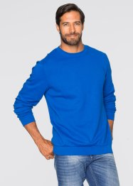 Sweatshirt regular fit, bpc bonprix collection, azurblå