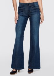 Stretchjeans WIDE, John Baner JEANSWEAR, dark denim used
