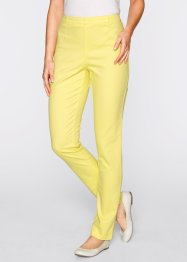 "Stretchleggings ""smala"", bpc bonprix collection, ljus citron"
