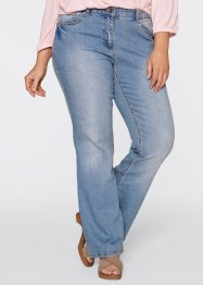 "Stretchjeans ""Bootcut"", bpc bonprix collection, medium blue bleached"