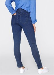 Push up-jeans i powerstretch, hög midja, bpc bonprix collection, blue stone