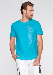 T-shirt, normal passform, bpc bonprix collection, turkos