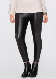 Treggings, materialmix, RAINBOW, svart