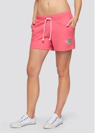 Sweatshorts, 2-pack, bpc bonprix collection, ljus pink/antracitmelera