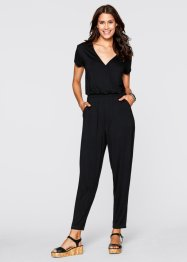 Jumpsuit, ankellång, bpc bonprix collection, svart