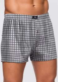 Vida boxershorts (3-pack), bpc bonprix collection, grå/antracit