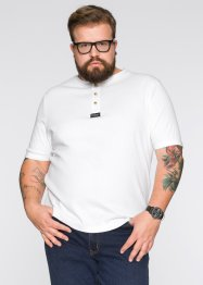 T-shirt, regular fit, John Baner JEANSWEAR, vit