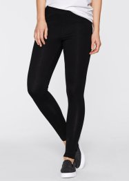 Stretchleggings (2-pack), bpc bonprix collection, vit + svart