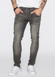 Jeans i superstretch, skinny fit, straight, RAINBOW, light grey denim used