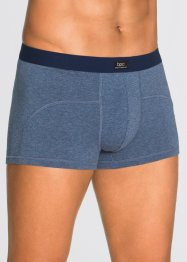 Boxershorts (3-pack), bpc bonprix collection, blåmelerad