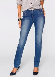 Jeans med applikation, bpc selection premium, blue stone