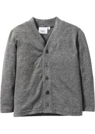 Cardigan, bpc bonprix collection, gråmelerad