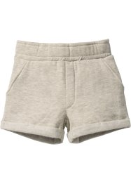 Sweatshorts, bpc bonprix collection, naturmelerad
