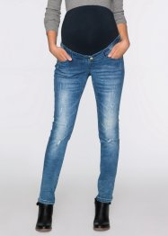 Mammajeans med destroyed look, skinny, bpc bonprix collection, blue stone