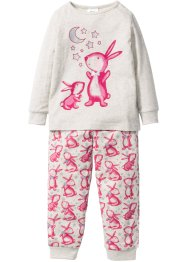 Pyjamas (2-delat set), bpc bonprix collection, naturmelerad/pink