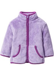 Babyjacka i teddyfleece, bpc bonprix collection, syren