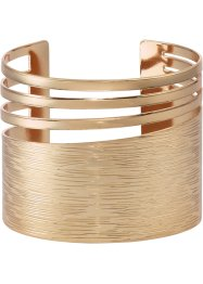 Armband med cut-outs, bpc bonprix collection, guldfärgad