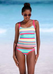 Tankini (2 delar), bpc bonprix collection, turkos, randig