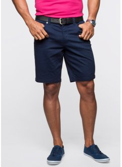 Stretchbermudashorts, classic fit, bpc bonprix collection, mörkblå
