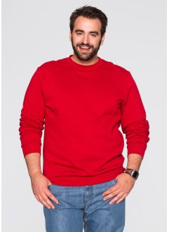 Sweatshirt regular fit, bpc bonprix collection, jordgubb