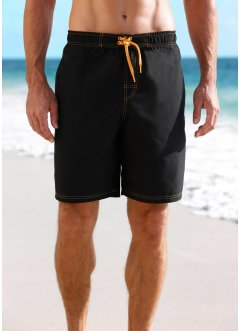 Badshorts, herr, bpc bonprix collection, svart