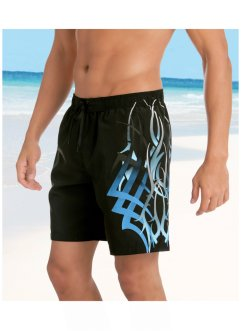 Badshorts, bpc bonprix collection, svart