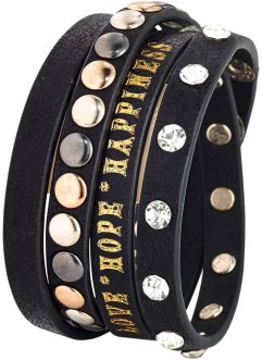 Nitarmband, bpc bonprix collection, svart