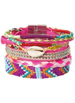 Armband Boho, bpc bonprix collection, pink