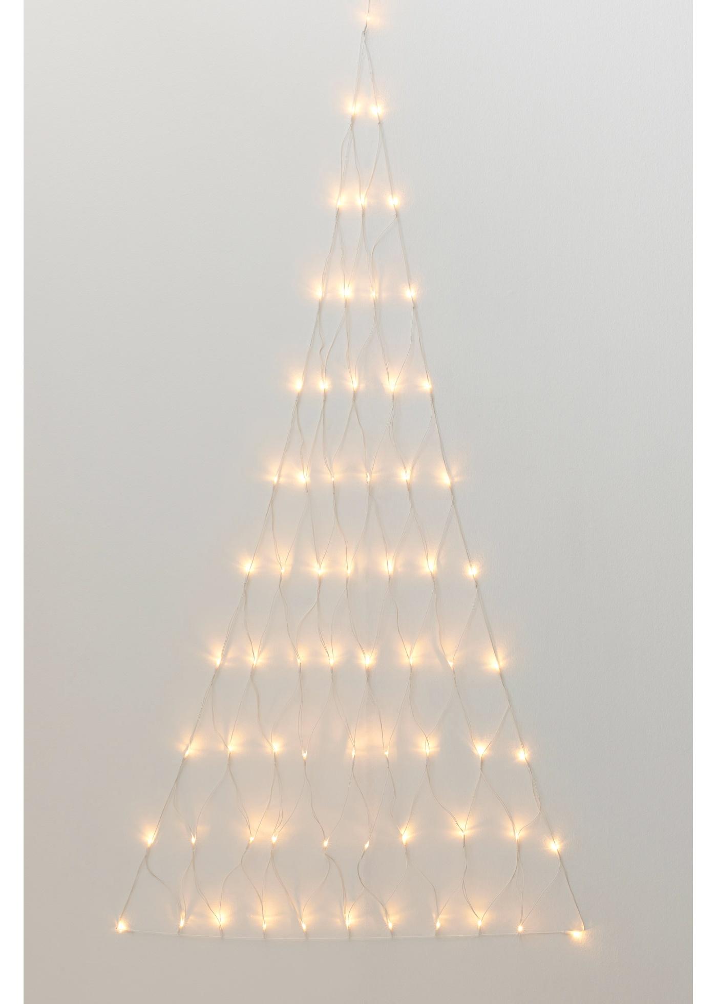 Julgransformad nätbelysning, med LED-lampor