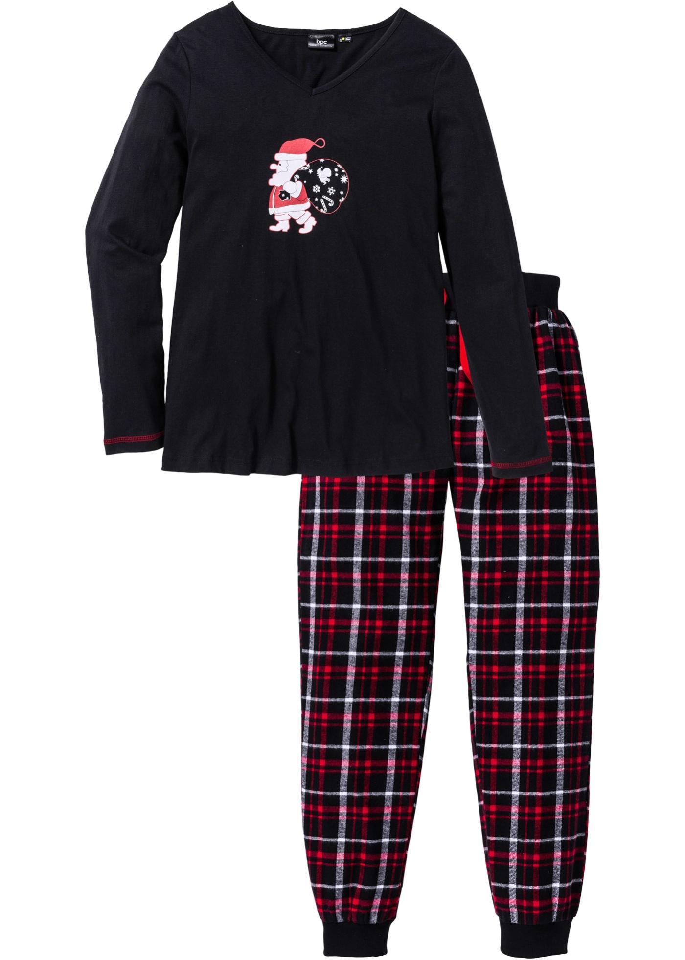 Pyjamas med flanellbyxa