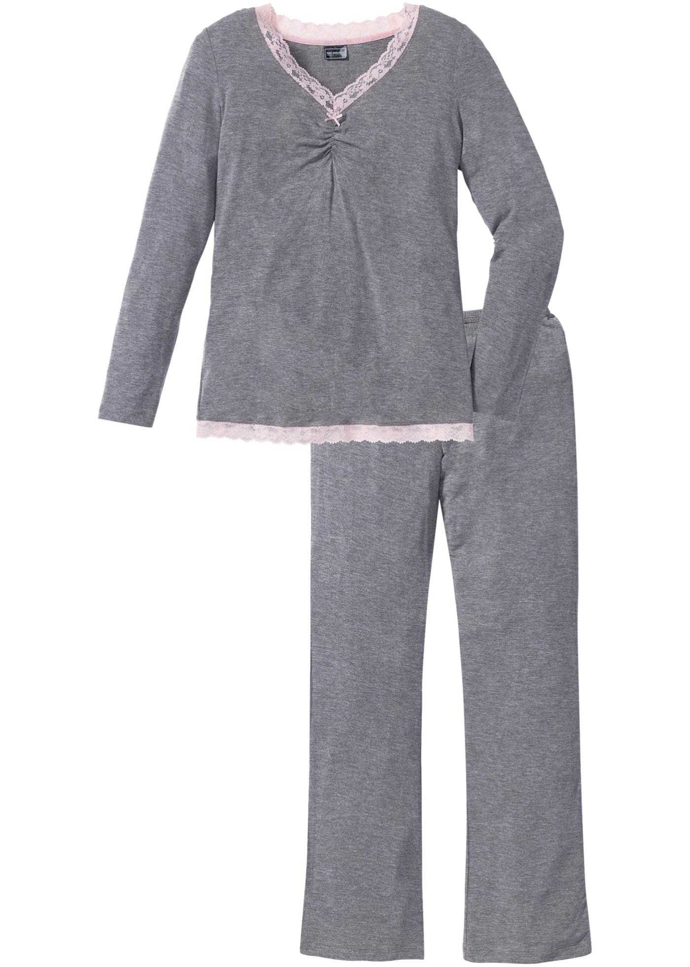 Pyjamas med utsvängda ben