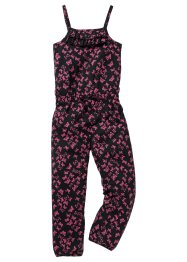 Jumpsuit, bpc bonprix collection, svart, mönstrad