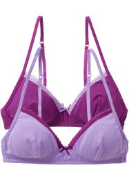 Bh (2-pack), bpc bonprix collection, syrenlila/violett