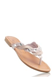 Stringsandal, bpc bonprix collection, beige