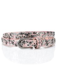 Smalt nitskärp, bpc bonprix collection, rosa metallic