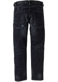 Jeans regular fit, straight leg, RAINBOW, antracit denim