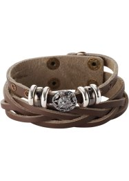 Armband Elisa, bpc bonprix collection, brun