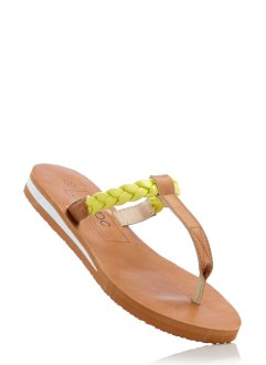 Flip-flops, bpc bonprix collection, camel/ljus citron