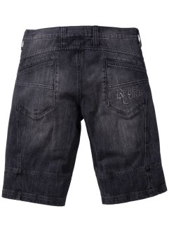Jeansbermudas, normal passform, RAINBOW, black stone used