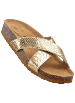 Sandal, bpc bonprix collection, guld