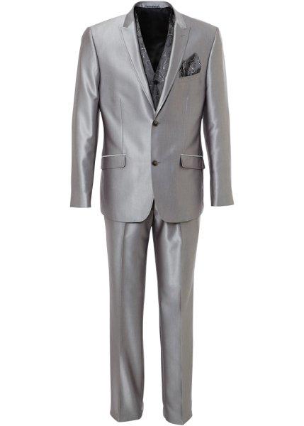 bpc selection - Glänsande kostym (3-delar), större + mindre vidd