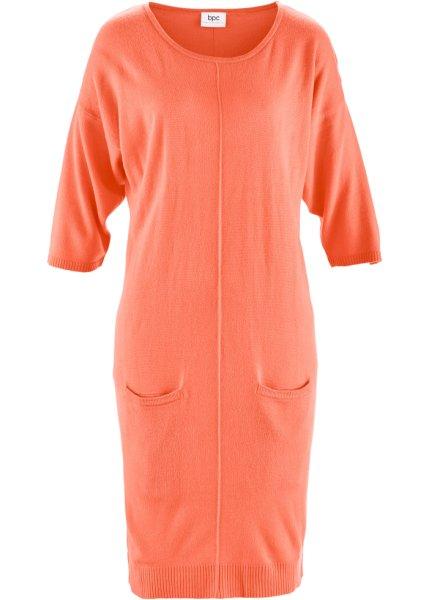 Stickad klänning «Mjuk som kashmir»