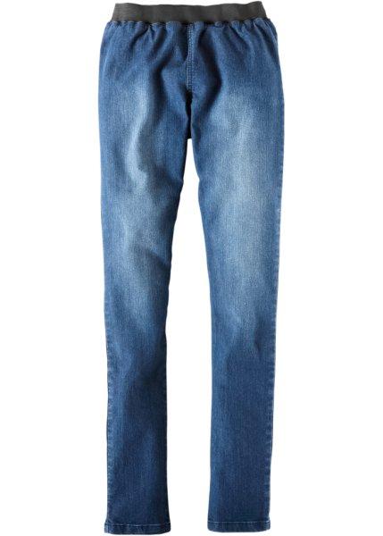 Jeansleggnings «SKINNY», kort