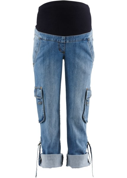 bpc bonprix collection - Mammamode: jeans med omslag