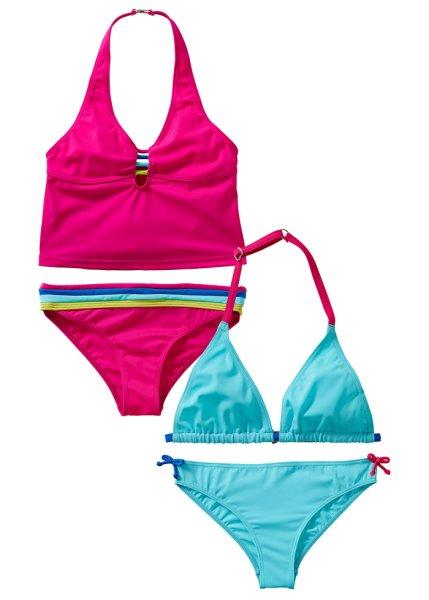 bpc bonprix collection - Bikini + Tankini (4-delar)